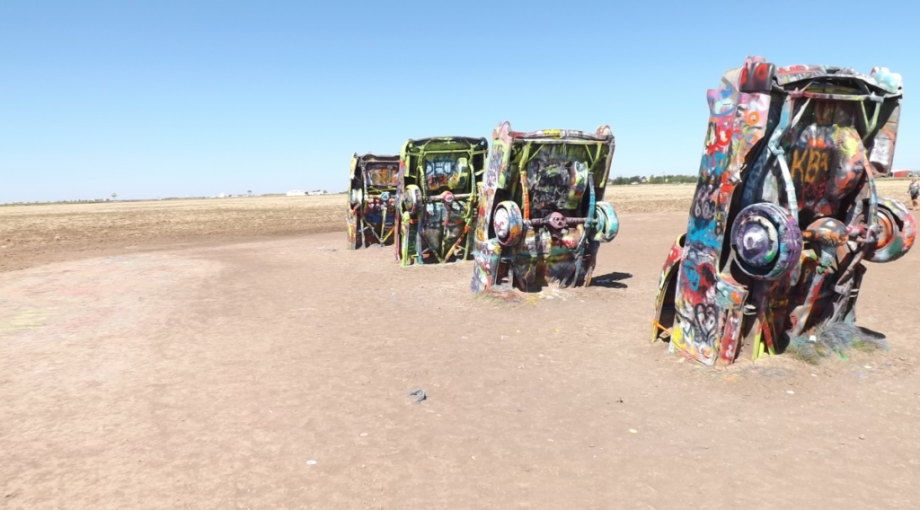 Route 66 holidays cadillac ranch
