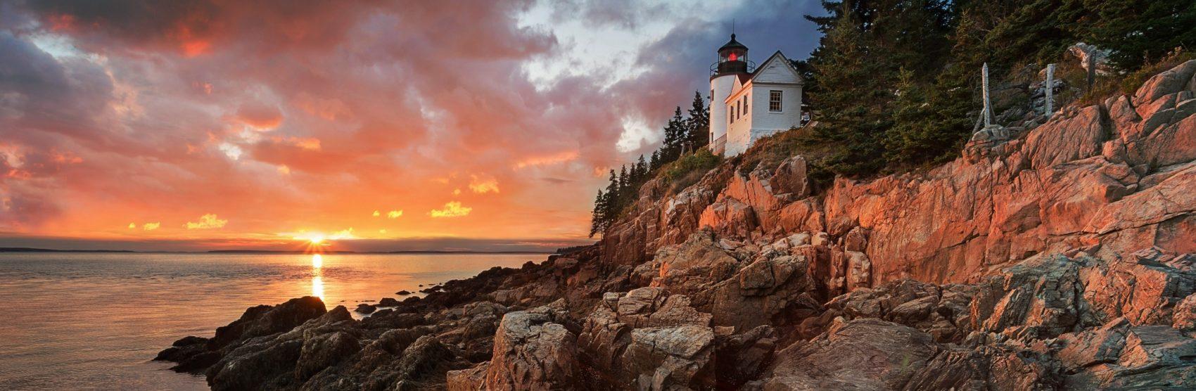 New England holidays coast