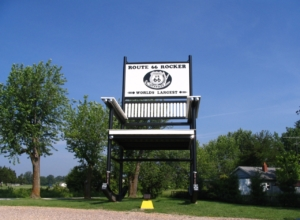 World's Largest Rocking Chair - Route 66