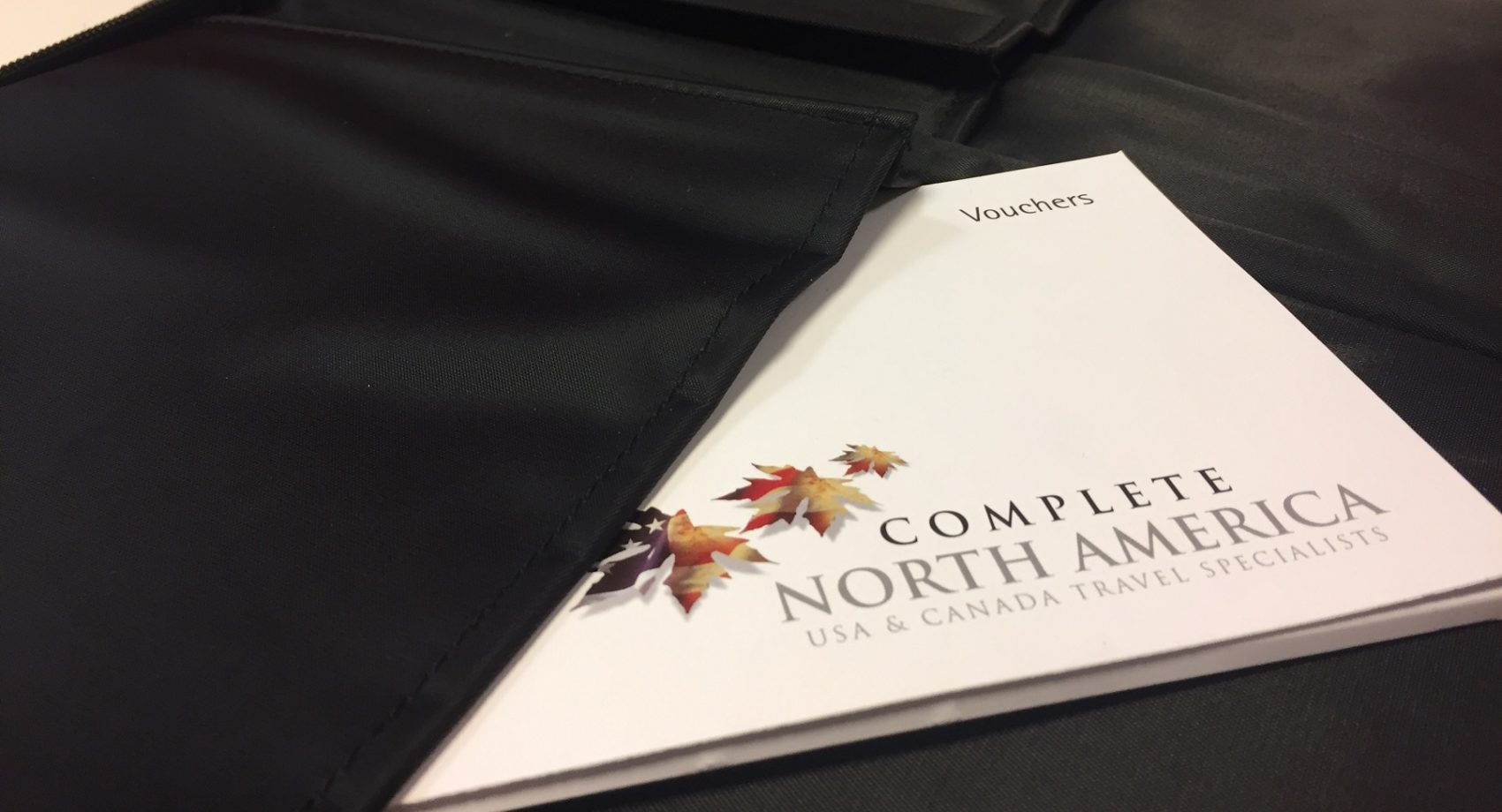 Complete North America voucher booklet