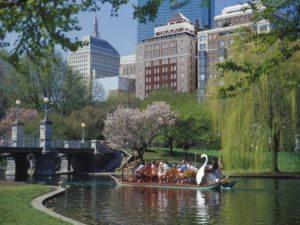 Boston - Swan Boats in the Public Garden