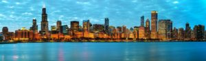 Chicago Skyline USA midwest holidays fly drives