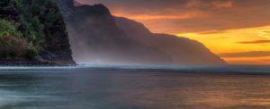 Hawaii holidays Sunset Coastline USA