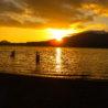 Lake Quinault at Sunset