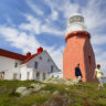 Long Point Lighthouse in Twillingate, Central (1)