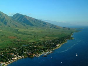 Lahaina from the North, Hawaii