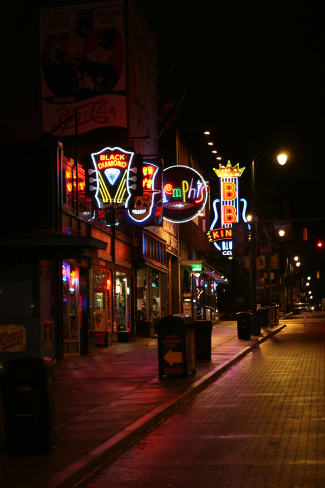 Beale St, Memphis