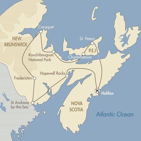 New Brunswick & Prince Edward Island
