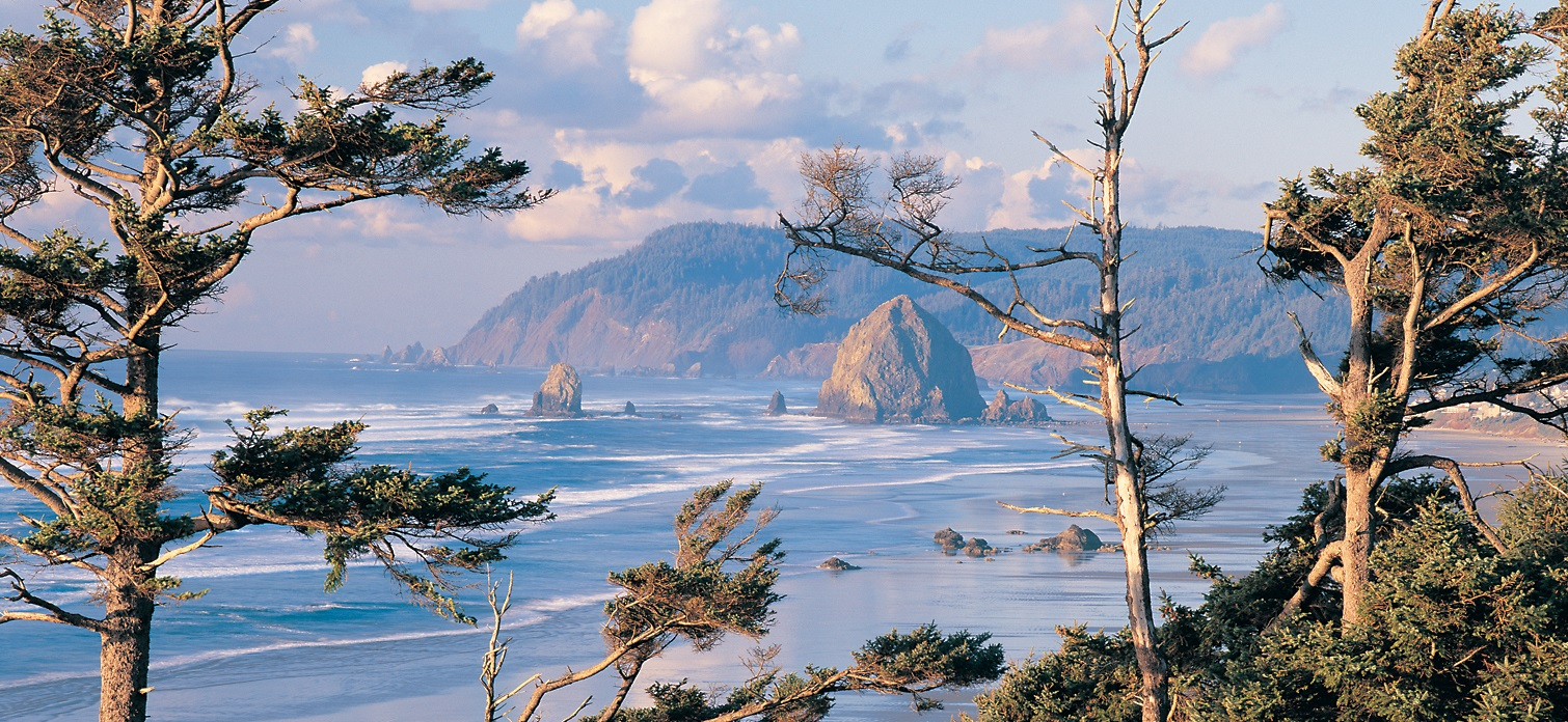 Cannon Beach Oregon fly drives USA
