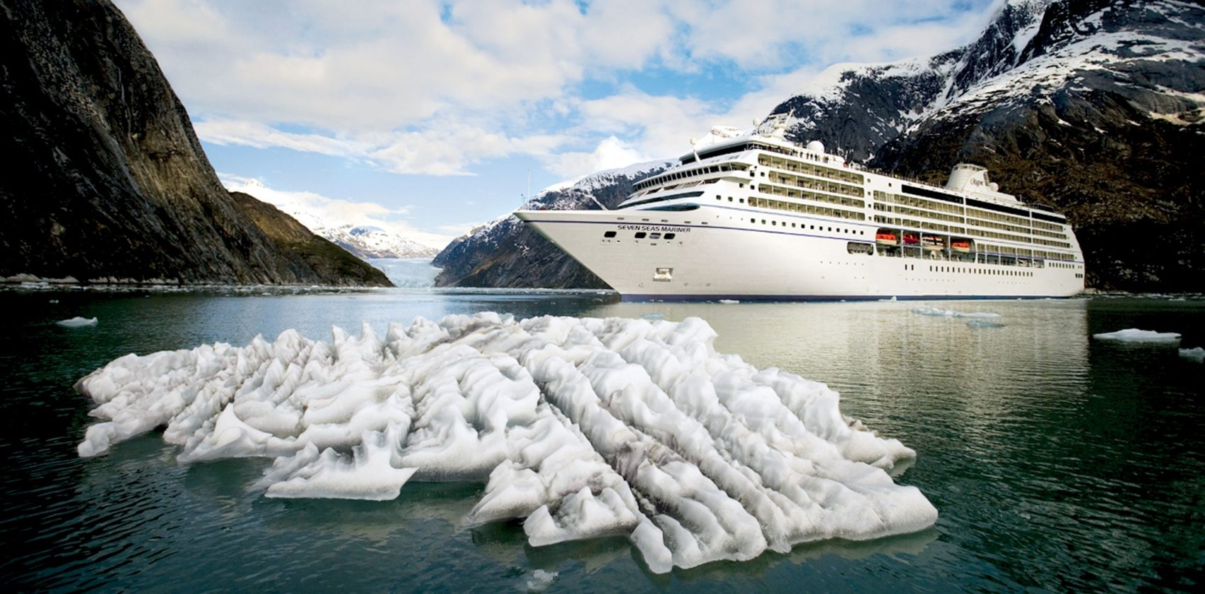 Regent Cruise Ship in Alaska
