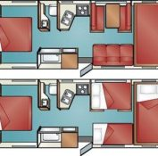 Cruise America C30 floor plan