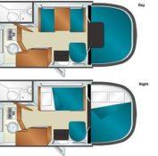 Cruise America C-19 Interior