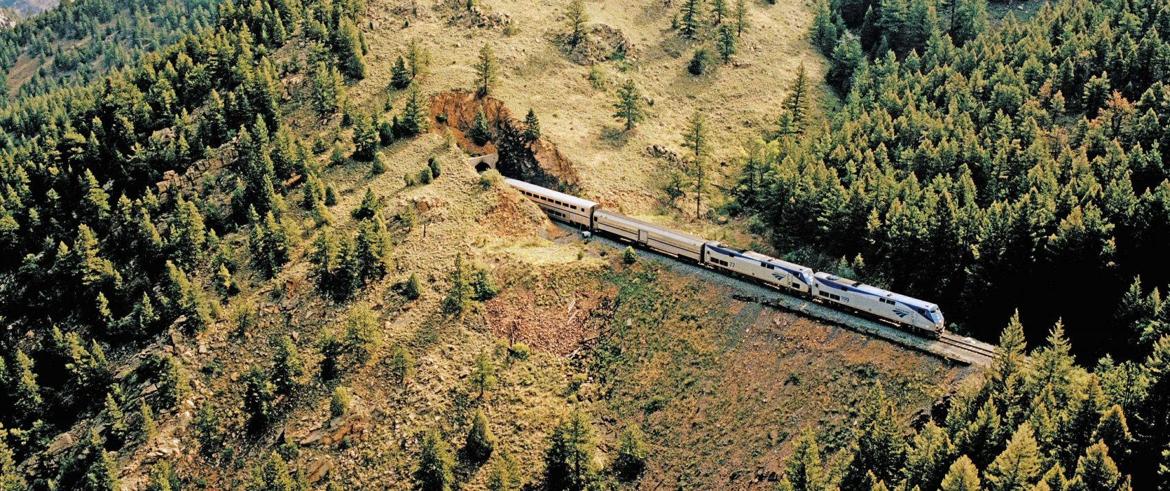 Glacier National Park rail