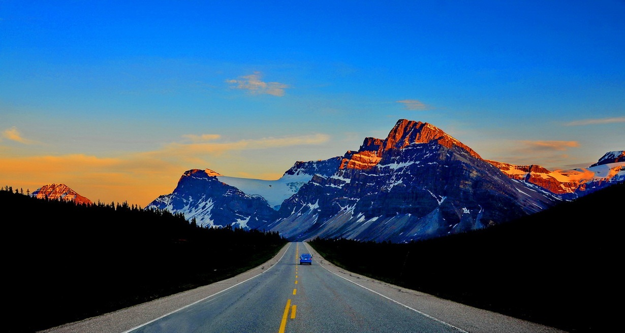 Fly drive into the Canadian Rockies