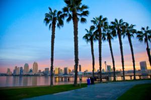 San Diego coach holiday