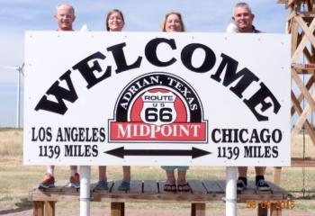 Adrian Texas Route 66