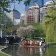 Boston - Swan Boats in the Public Garden