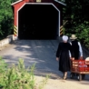 Covered Bridge and Amish