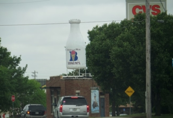 Giant Milk Bottle Oklahoma