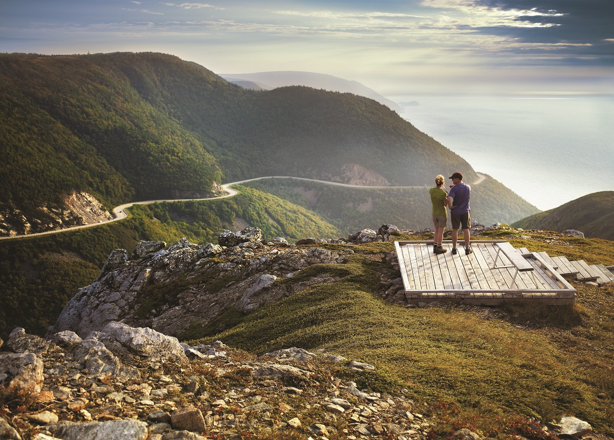 Skyline Trail at Cape Breton, Nova Scotia