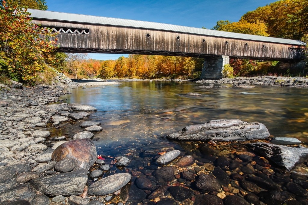 Vermont (With images) | Covered bridges, Woodstock vermont ... |New England Covered Bridges Tour