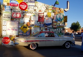 Route 66 classic car