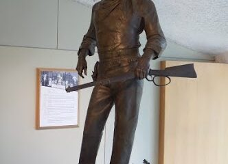 The John Wayne Statue at National Cowboy & Western Heritage Museum in Oklahoma City
