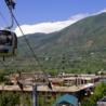 Taking a summer-time gondola ride in Aspen