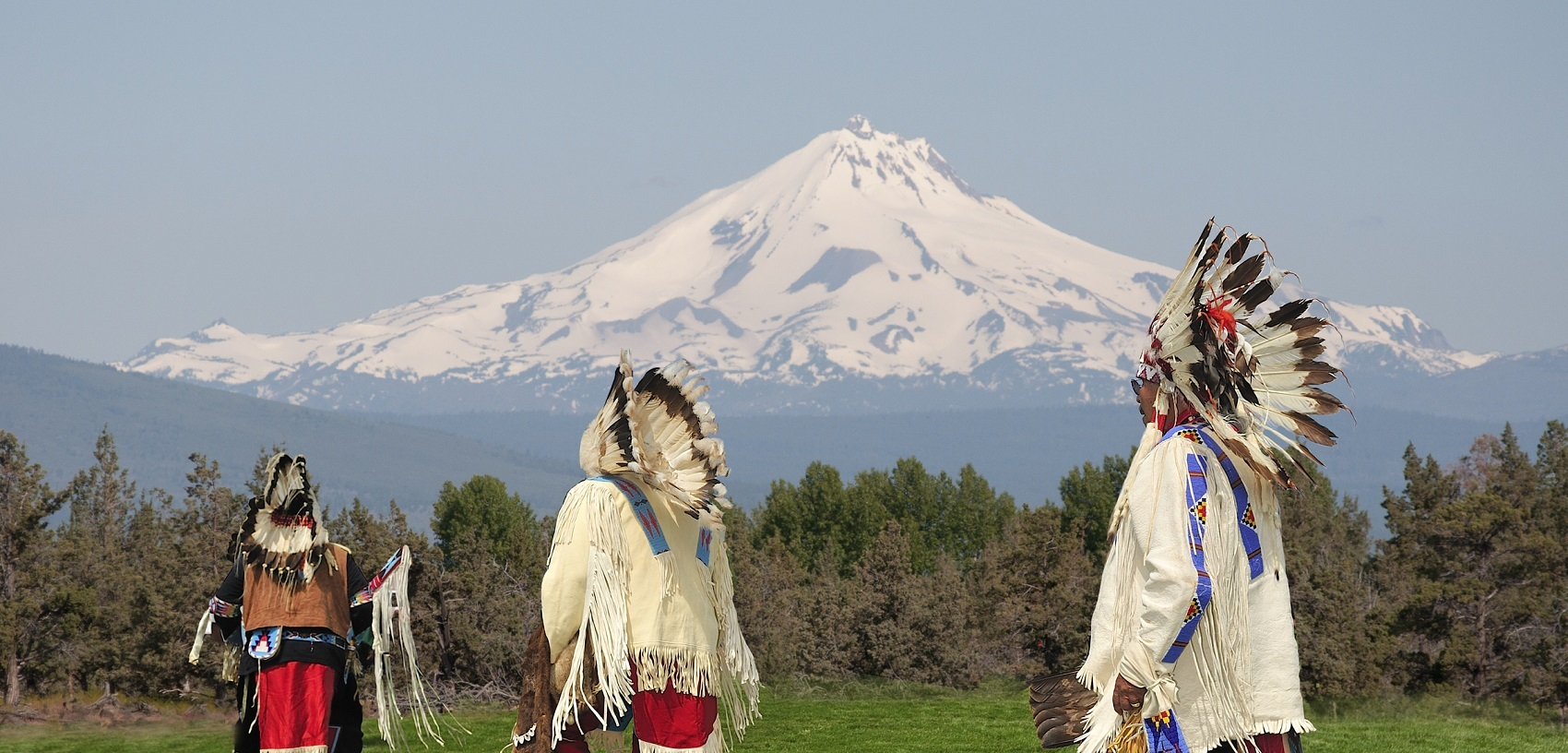 Three Chiefs, Mount Jefferson near Redmond, Oregon, USA
