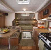 Canadream Maxi travel camper inside