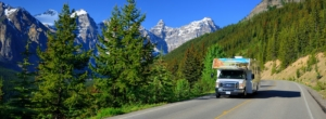 Large motorhomes in Canada