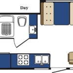 MH-A Motorhome Day floor plan
