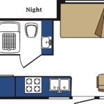 MH-A Motorhome Night floor plan