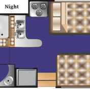 Road bear c28-30 floorplan night