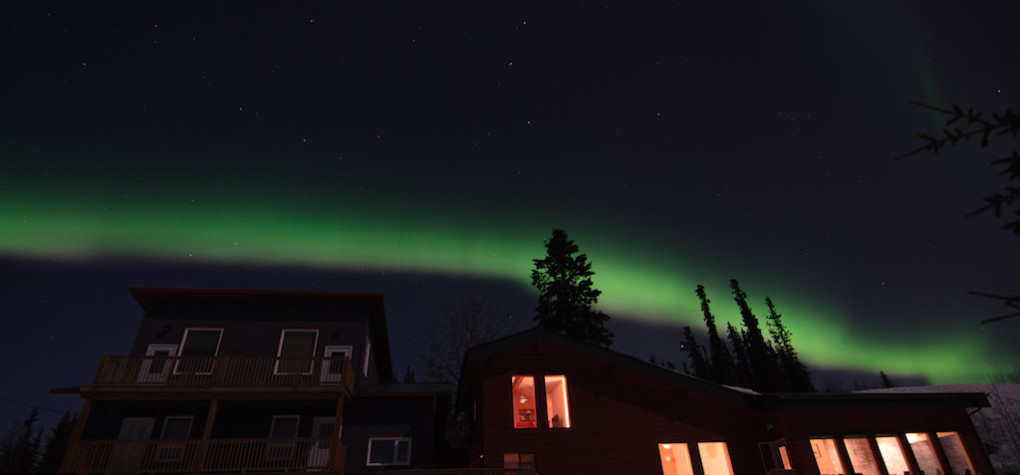 Northern Lights in Yukon at Boreale Ranch