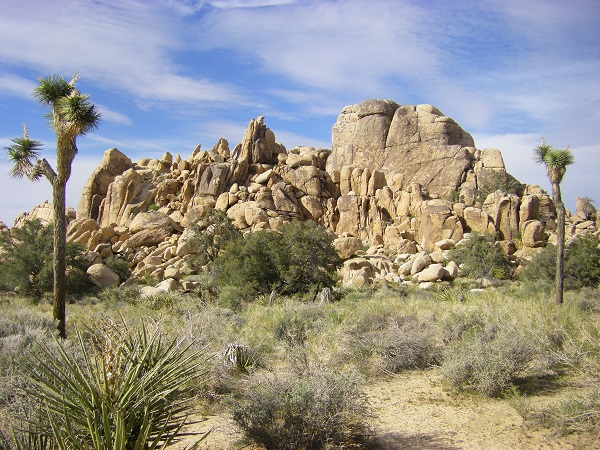 Hidden Valley in Joshua Tree National Park, California