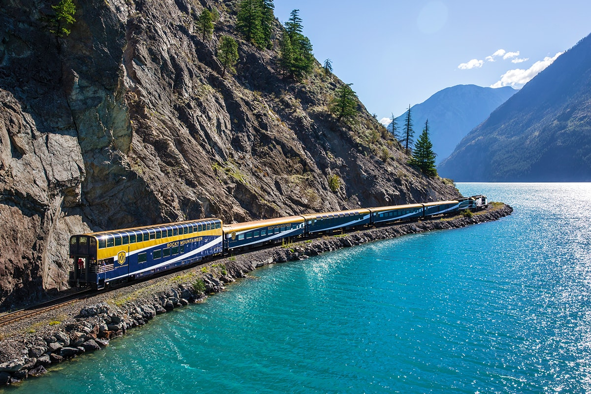 Canadian Rockies Adventure aboard the Rocky Mountaineer Train
