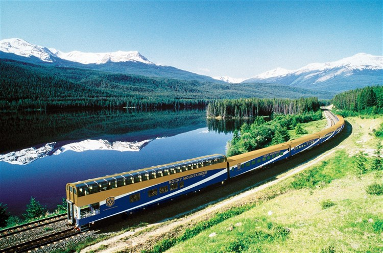 Canada Rail Holidays including the Rocky Mountaineer