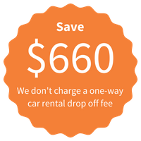 Save $660 - Complete North America waive the one way drop fee on your Route 66 fly drive holiday