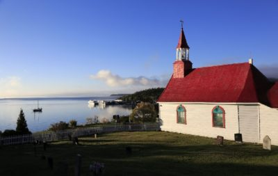 Tadoussac Chapel in Quebec