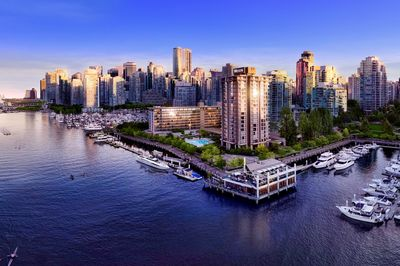 Vancouver City skyline, British Columbia