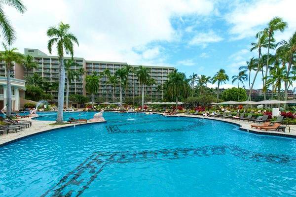 Kauai Marriott resort, Hawaii