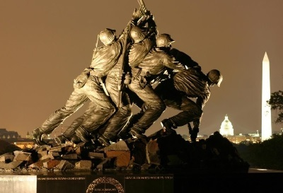 Marine Corps War Memorial, Washington DC