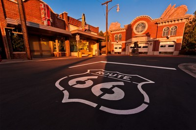 Cars Land on Route 66