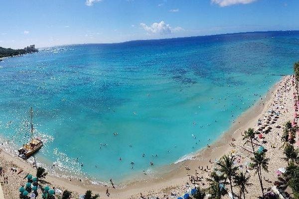 Waikikki beach
