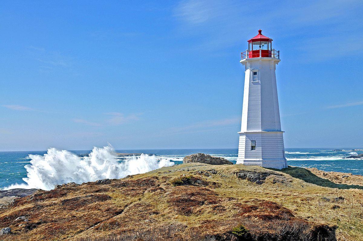 Louisbourg Lighthouse, Nova Scotia
