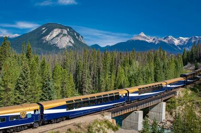 Rocky Mountaineer and Alaska cruise