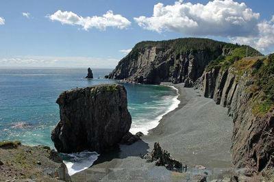 Trinity coastline