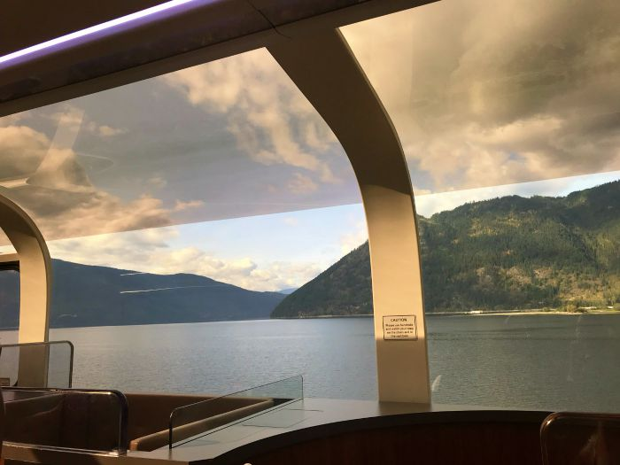 View from the Rocky Mountaineer