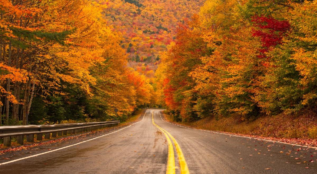 Kancamagus Highway fall foliage